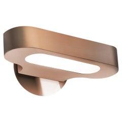 Artemide Talo Mini 3000K LED Wall Light in Satin Copper