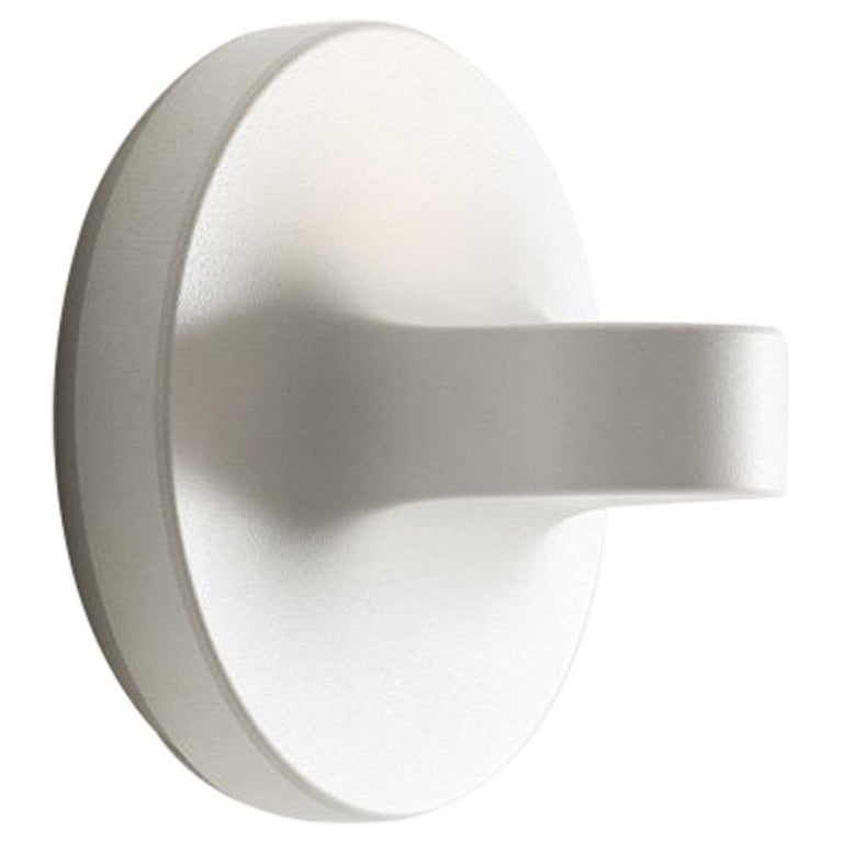 Artemide Tigia Wall Light in White For Sale