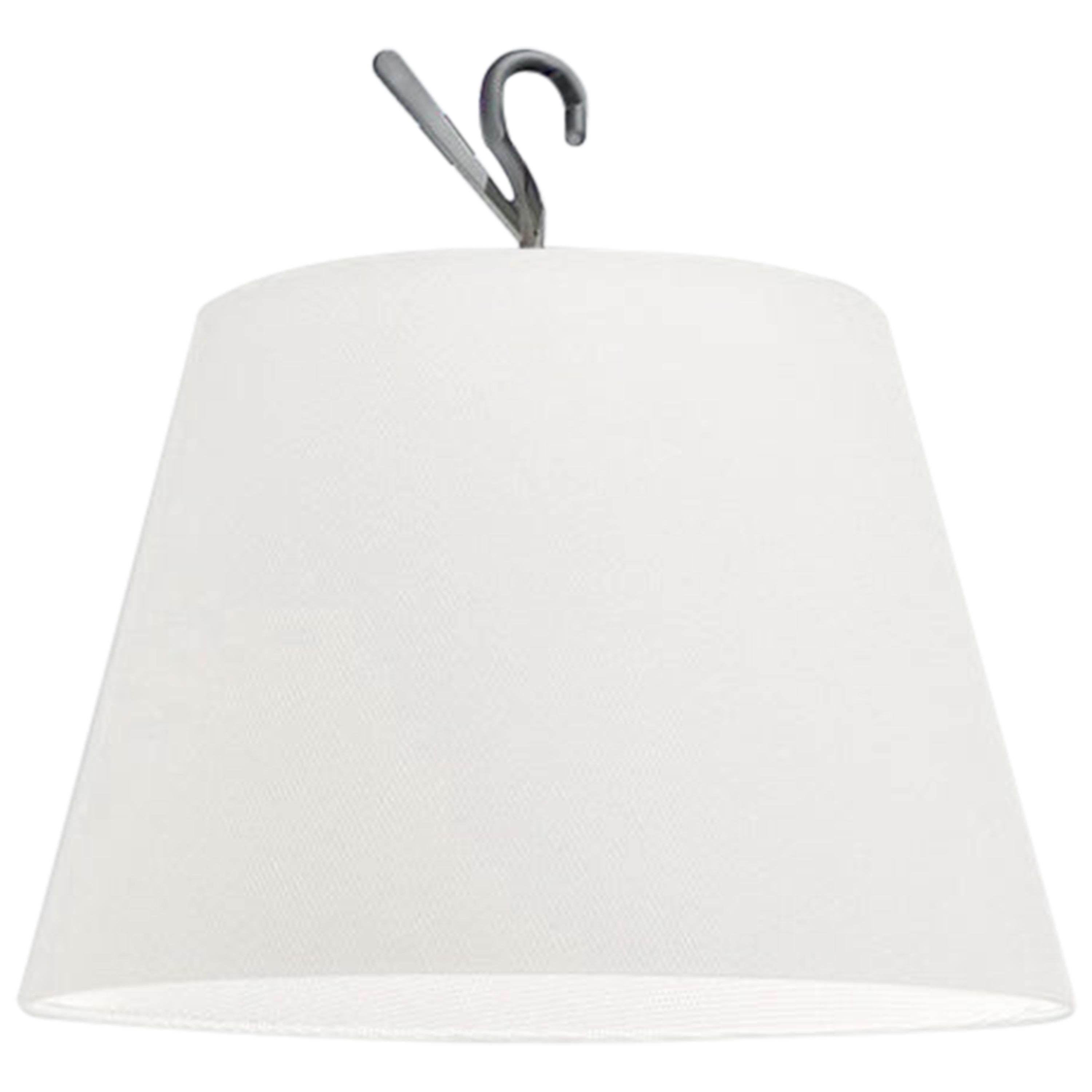 Artemide Tolomeo Hook Lamp in White by Michele De Lucchi, Giancarlo Fassina