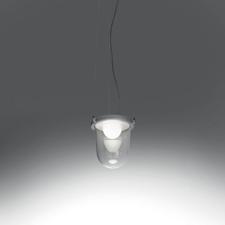 Modern Artemide Tolomeo Lantern with Suspension by Michele De Lucchi & Giancarlo Fassin For Sale