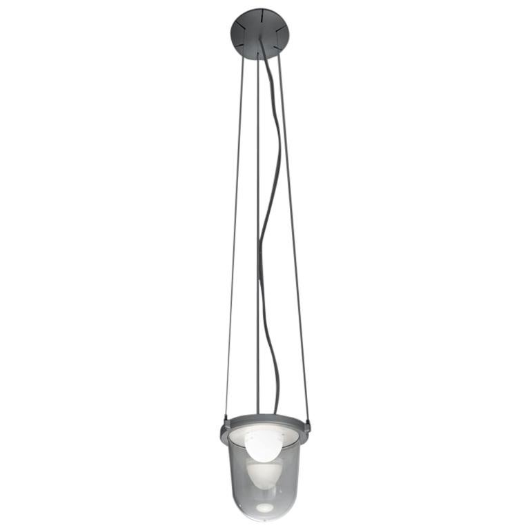 Artemide Tolomeo Lantern with Suspension by Michele De Lucchi & Giancarlo Fassin For Sale