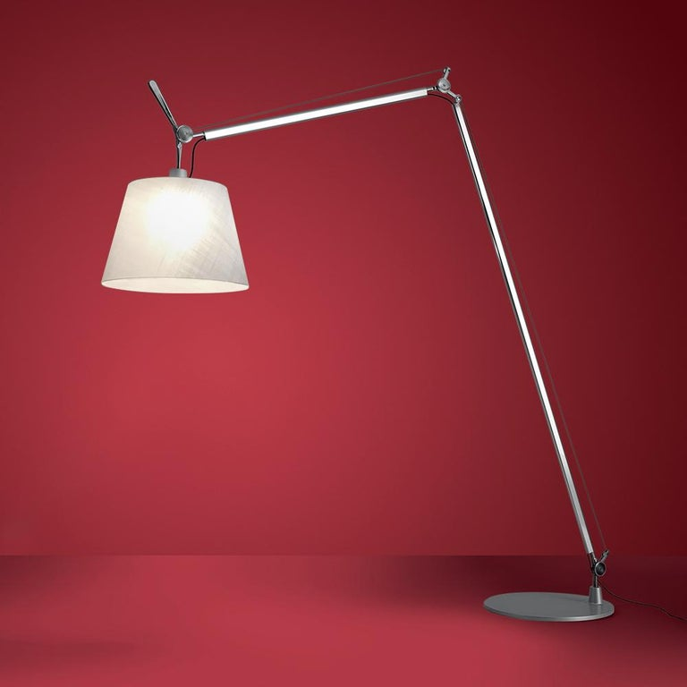 """Tolomeo lamp was made to go everywhere, stay everywhere, work everywhere. Now on its 30th anniversary we know it will never become old.  Even in the future it will go everywhere, stay everywhere, work everywhere, forever!"""" Michele De"""