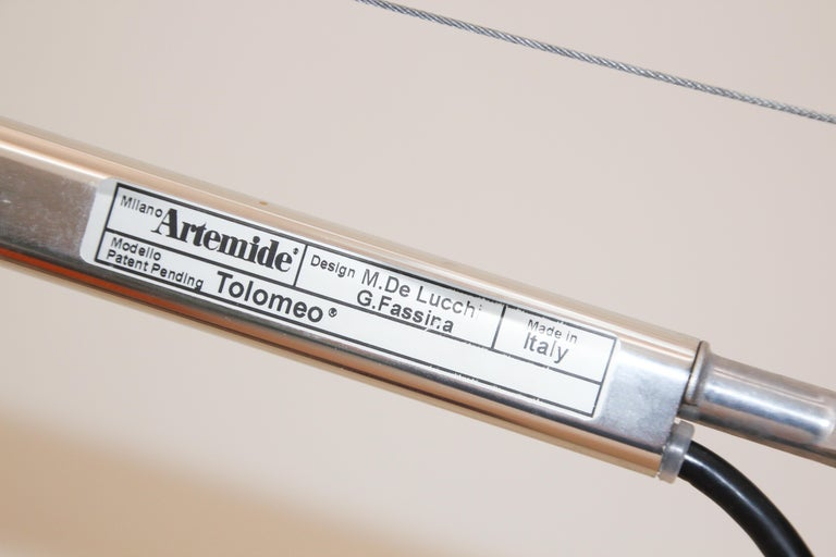 Artemide Tolomeo Mega In Good Condition For Sale In North Hollywood, CA
