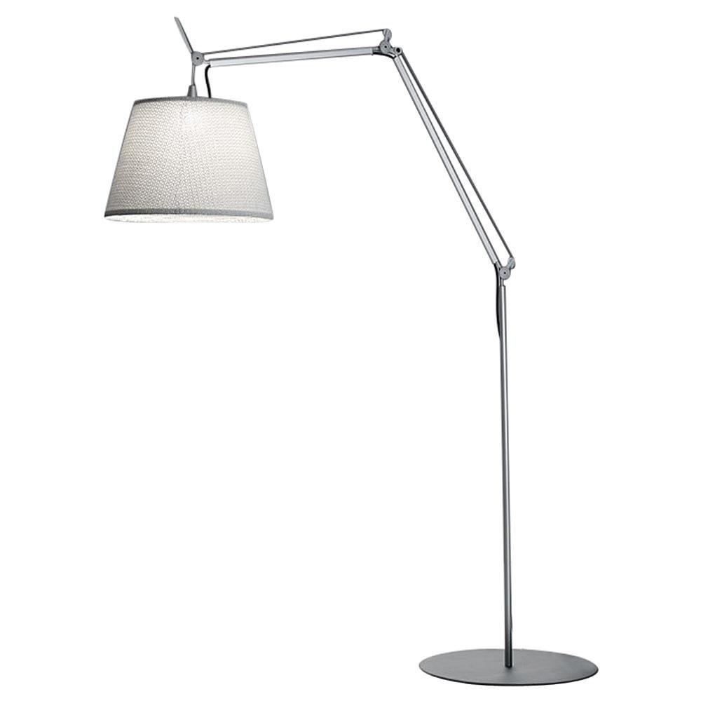 Artemide Tolomeo Mega Outdoor Floor Lamp with White Diffuser