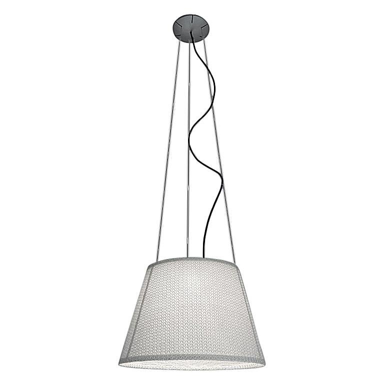 Artemide Tolomeo Mega Outdoor Suspension Light in White For Sale