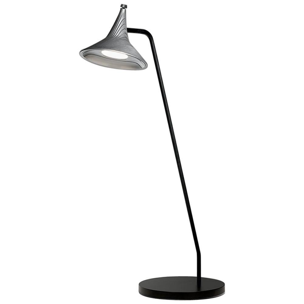 Artemide Unterlinden LED Table Lamp in Aluminum by Herzog & De Meuron