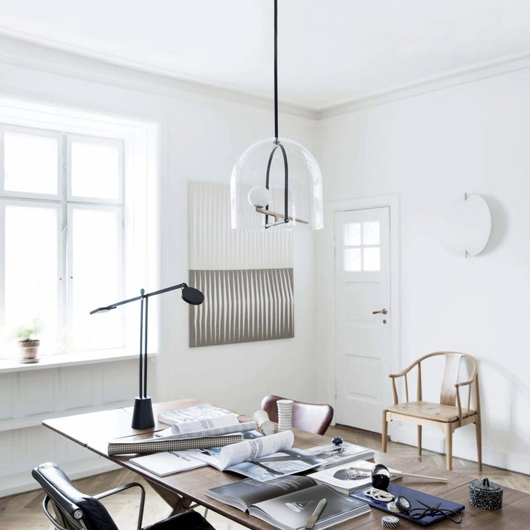 Artemide Yanzi Chandelier in Black by Neri&Hu 3