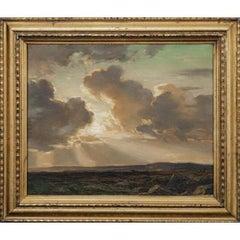 A Dartmoor, Evening, 19th Century By Arthur A. Friedenson (1872-1955)