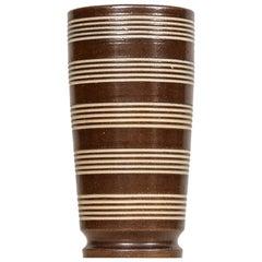 Arthur Andersson Floor Vase Produced by Wallåkra in Sweden