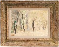 'Silver Birches', New York Armory Show, Ashcan School, ASL, NY MOMA, AIC, LACMA