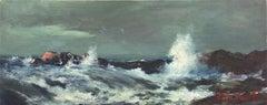 'Breaking Waves', De Young Museum, San Francisco Art Association, Bohemian Club