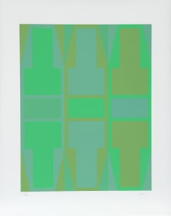 T Series (Green), Serigraph by Arthur Boden
