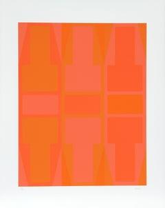 T Series (Orange), Serigraph by Arthur Boden