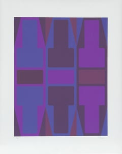 T Series (Purple), Serigraph by Arthur Boden
