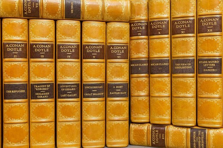 Leather Arthur C. Doyle, Complete Works For Sale