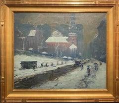 Boston Winter Scene