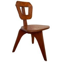 "Arthur Collani Plywood ""Modern"" Chair"