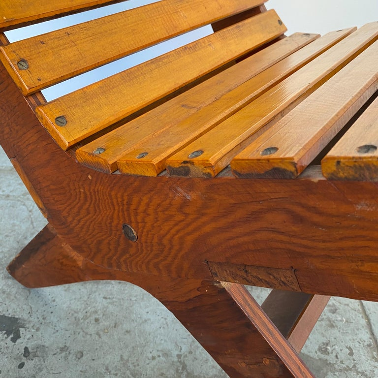 Arthur Collani Tilt-Back Chair For Sale 3