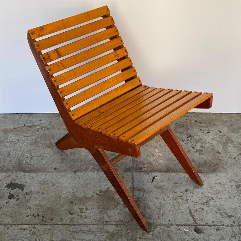American Arthur Collani Tilt-Back Chair For Sale