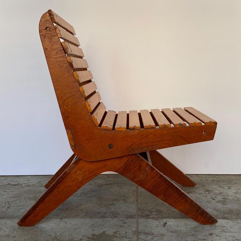 Mid-20th Century Arthur Collani Tilt-Back Chair For Sale