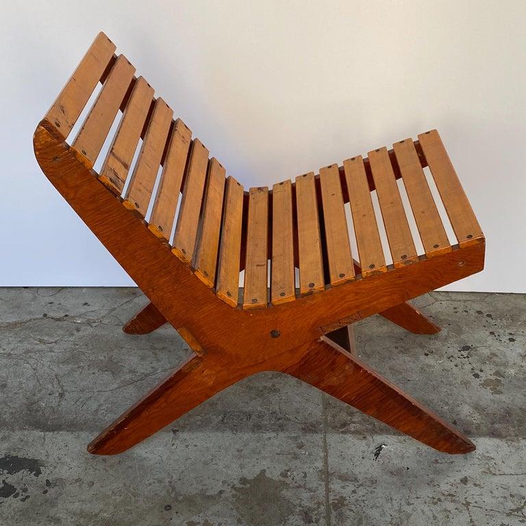 Birch Arthur Collani Tilt-Back Chair For Sale