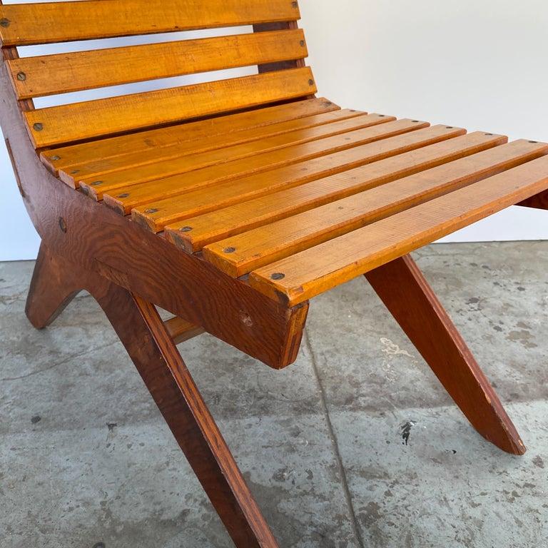Arthur Collani Tilt-Back Chair For Sale 2