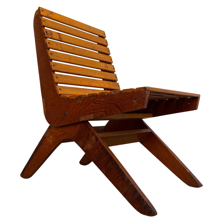 Arthur Collani Tilt-Back Chair For Sale