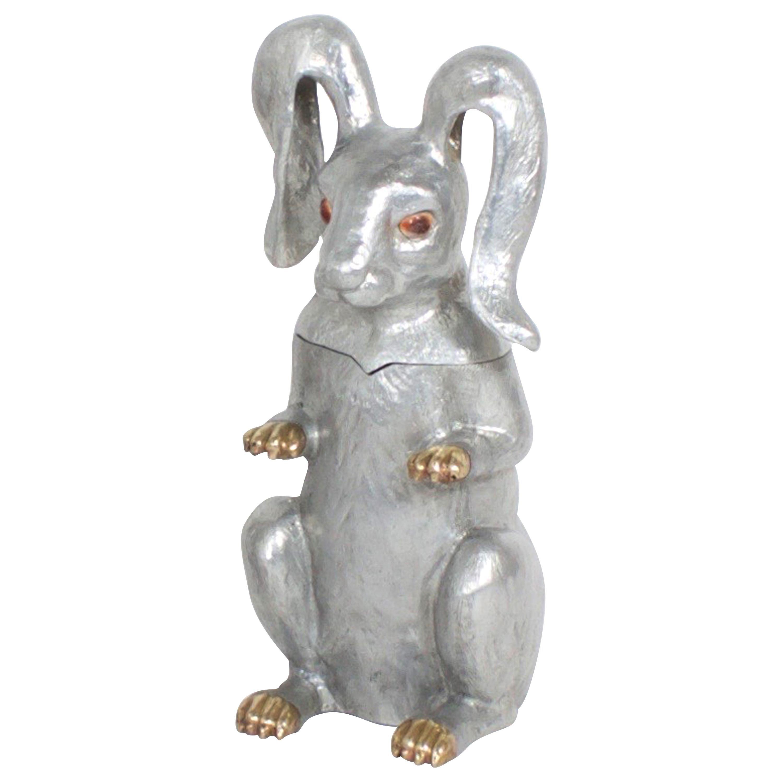 Arthur Court Rabbit Wine Cooler or Ice Bucket