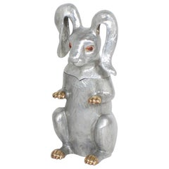 Arthur Court Rabbit Wine Cooler or Ice Bucket