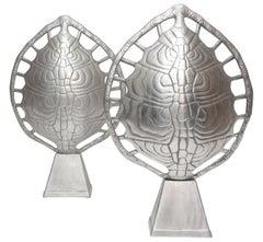 Arthur Court Tortoise Lamps