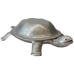 Arthur Court Turtle Serving Dish with Ladle