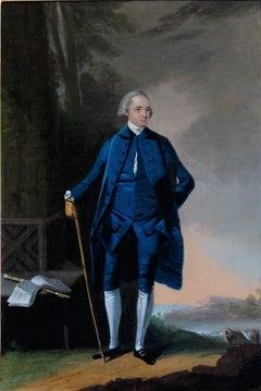 18th century portrait of the German Flautist and composer Johann Joachim Quantz