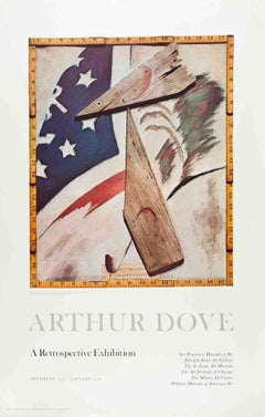 "Arthur Dove-Portrait of Ralph Dusenberry-37"" x 24""-Poster-1975-Multicolor"