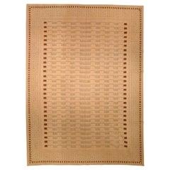 Arthur Dunnam Contemporary Aubusson Handmade Wool Rug for Doris Leslie Blau