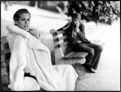 Lauren Hutton in Central Park, 1975