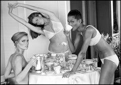 Patti Hansen, Lisa Taylor, and Beverly Johnson, San Francisco