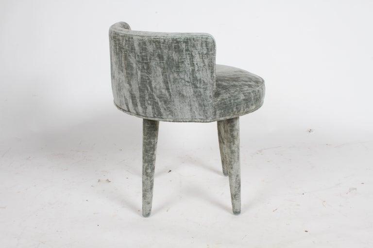 Arthur Elrod Designed Vanity Stool For Sale At 1stdibs