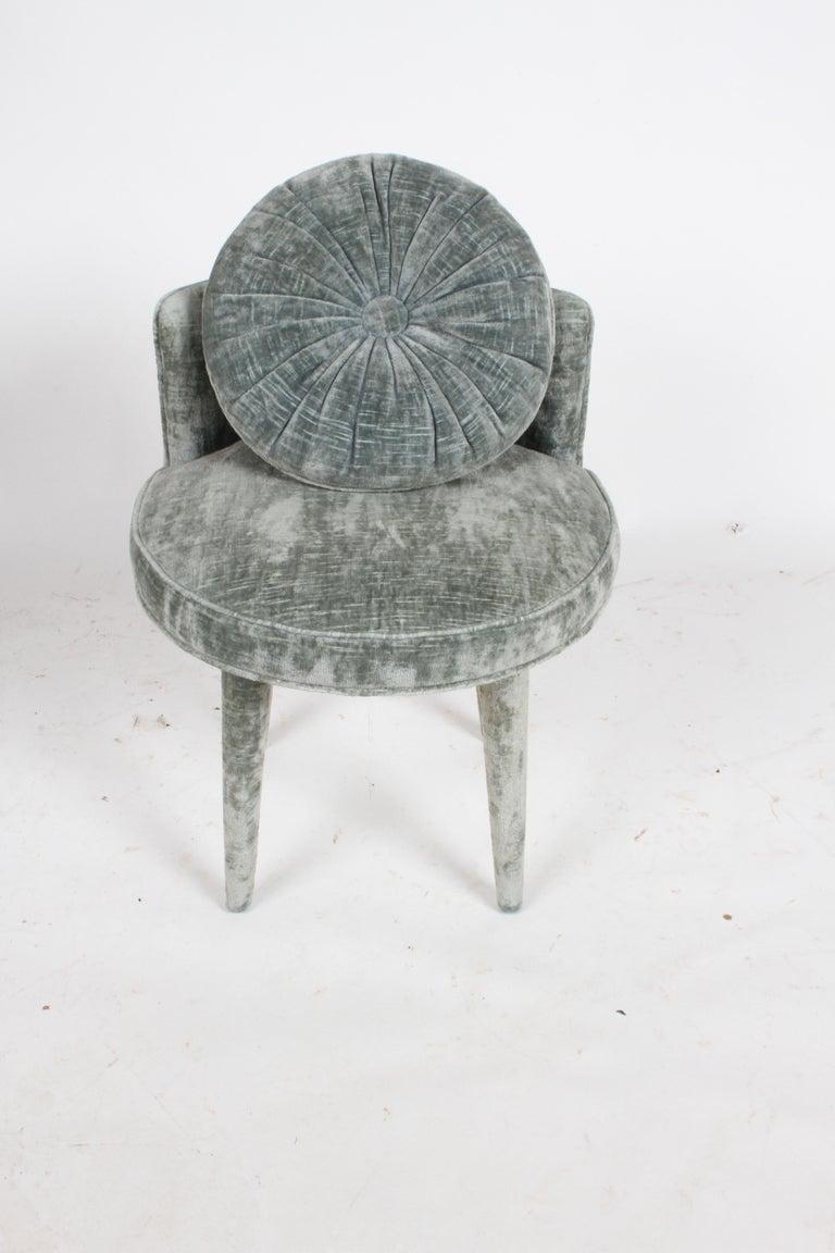 Arthur Elrod Designed Swivel Vanity Stool For Sale At 1stdibs