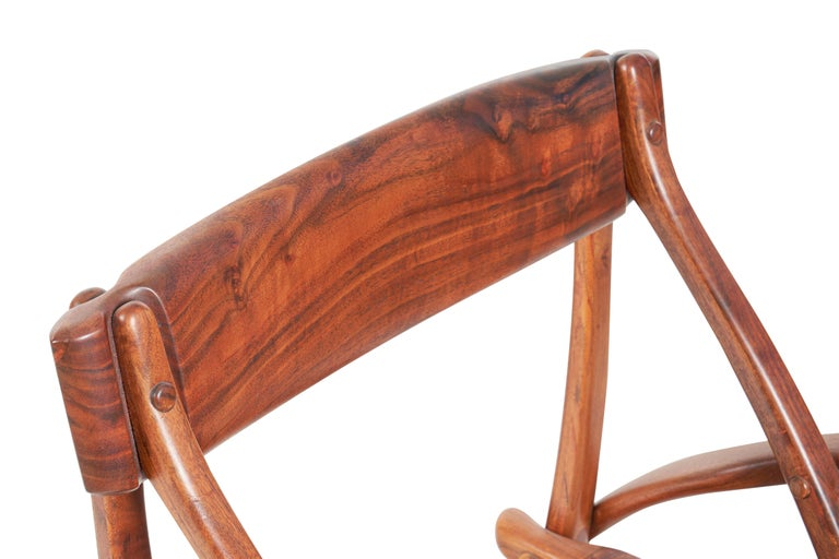 Arthur Espenet Carpenter California Dining Chairs In Good Condition For Sale In Chicago, IL