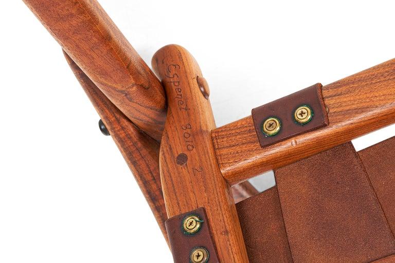 Arthur Espenet Carpenter California Dining Chairs For Sale 2