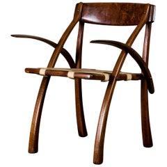 Arthur Espenet Carpenter 'Sedua Wishbone' Armchair