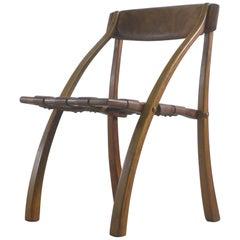 "Arthur Espenet Carpenter, ""Wishbone"" Chair circa 1970s, Stamped"