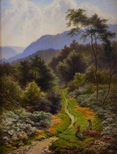 A Surrey Path by Arthur Gilbert (1819-1895)