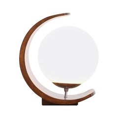 "Arthur Jacobs ""Half Moon"" Table Lamp for Modeline"