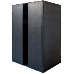 """Arthur Kouwenhoven, Welded Raw Steel """"Void"""" Small Table, Limited Edition"""