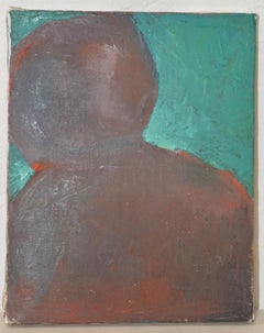 "Arthur J. Krakower (1921-2009) ""Passion"" Original Oil on Canvas c.1998"