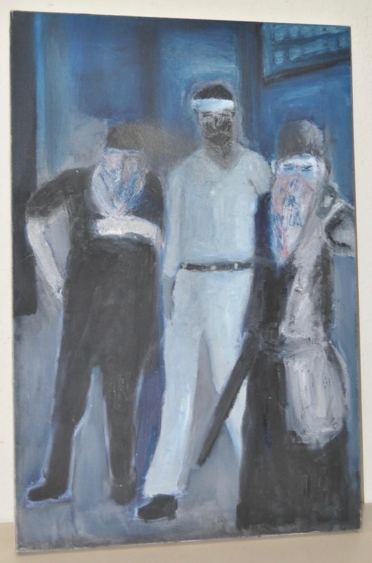 "Arthur J. Krakower ""December 31, 1996"" Original Oil Painting c.1996"