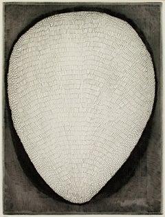 """Shell,"" original etching by Arthur Luiz Piza"