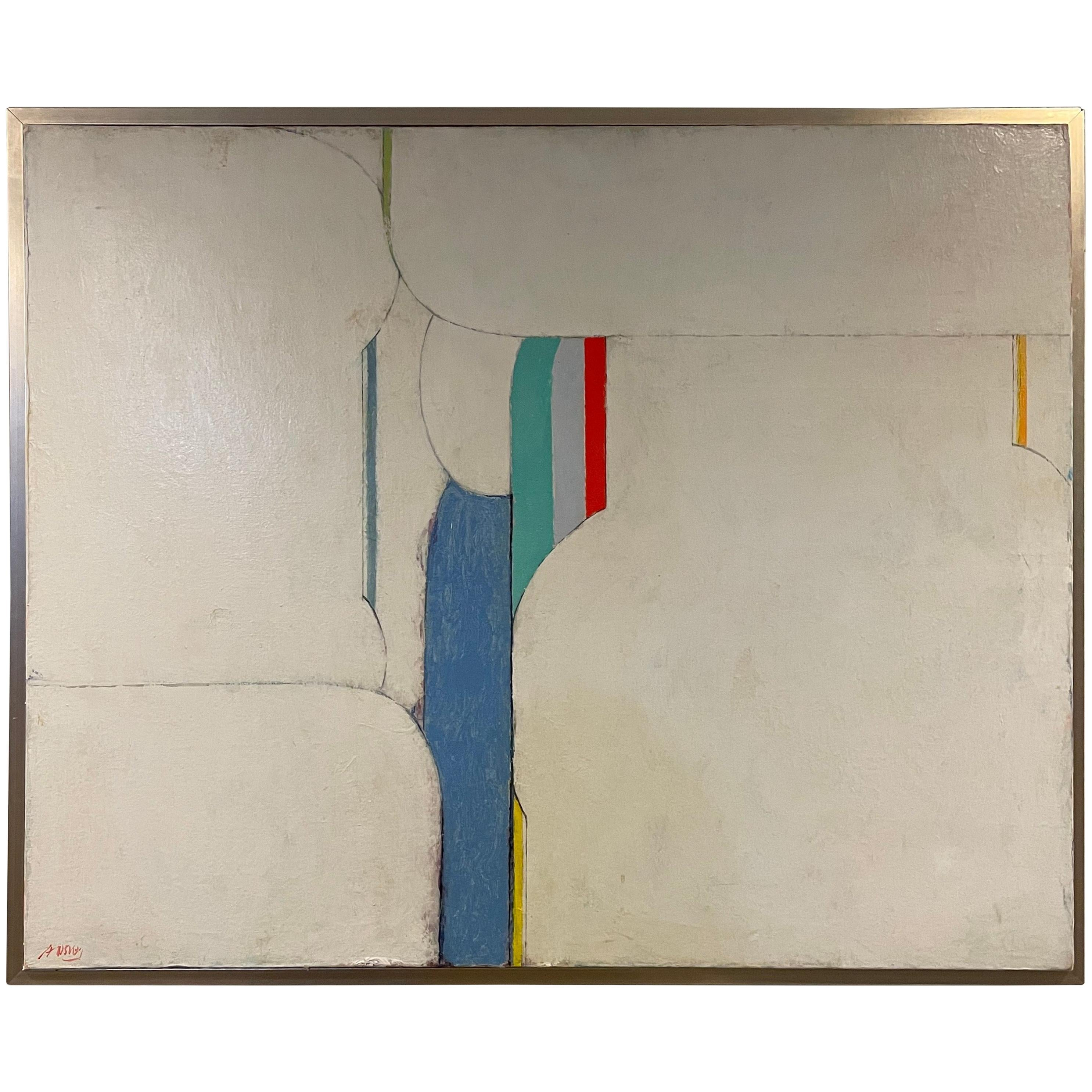 Arthur Osver Mixed Media on Canvas
