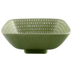Arthur Percy for Upsala Ekeby / Gefle, Large Ribbed Bowl